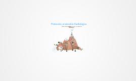 Protocolo; protección Radiológica