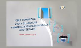 Presentaciones electronicas efectivas