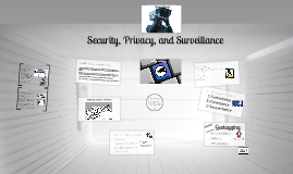 Surveillance and Security Online