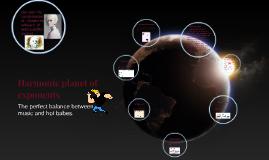 Harmonic planet of exponents