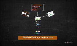 Modelo Nacional de Tutorías