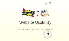 Sunoco Usability V III
