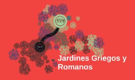Jardines Griegos y Romanos