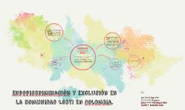 Endodiscriminación y exclusión en la comunidad LGBTI en Colo