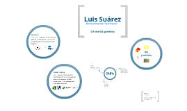 Copy of Luis Suárez: CV and GIS portfolio