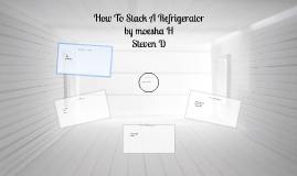 Stack How A Refrigerator