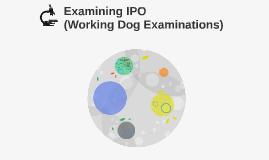 Examining IPO