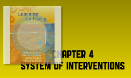 Chapter 4 - System of Interventions