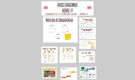 Copy of INDÍCES EDUCACIONAIS