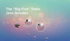 """The """"Big Five"""" Traits"""