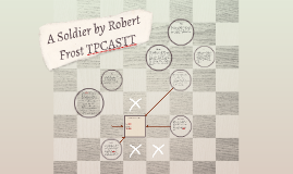 A Soldier by Robert Frost TPCASTT