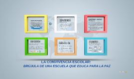 ESCENARIOS DE CONVIVENCIA