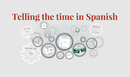 Telling the time in Spanish