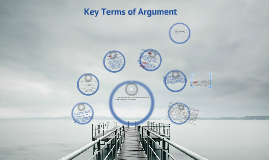 Key Terms for Argument