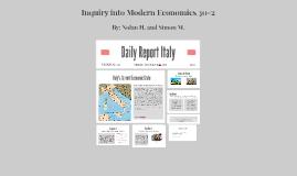 Italy Economic Practices
