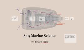 8.07 Marine Science