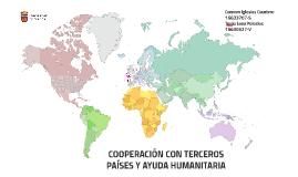 COOPERACIÓN CON TERCEROS PAÍSES Y AYUDA HUMANITARIA