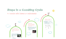 Steps in a Coaching Cycle