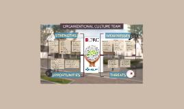 Organizational Culture Team - SWOT Analysis