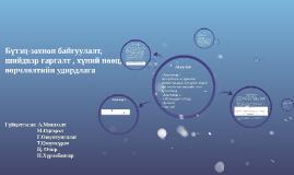 Copy of Бүтэц-зохион байгуулалт, шийдвэр гаргалт , хүний нөөц, өөрчл