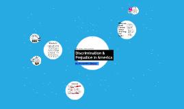 Discrimination & Prejudice in America