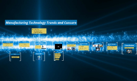 Manufacturing Technology Trends and Concern