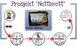 """Prosjekt """"Nettbrett"""" (NKUL2012)"""