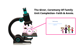 Ceremony Of Family Unit Completion- The Giver