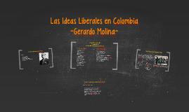 Las Ideas Liberales en Colombia