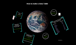 Copy of How to Create a Data Table