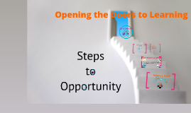 Opening the Doors to Learning
