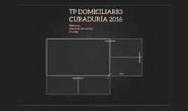 TP DOMICILIARIO CURADURÍA 2016