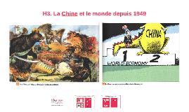 TS - H3 - La Chine et le monde depuis 1949