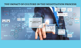 1. The impact of culture in the negotiation process