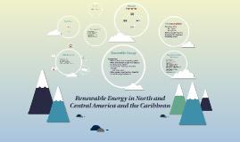 Copy of Renewable Energy in N and S America