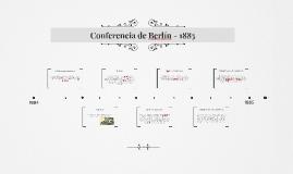 Conferencia de Berlín - 1885