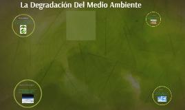 Copy of LA DEGRADACION DEL MEDIO AMBIENTE