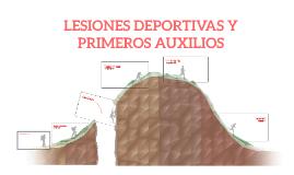 LESIONES DEPORTIVAS Y PRIMEROS AUXILIOS