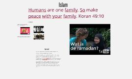 Islam Presentatie