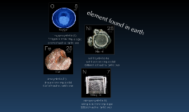 Copy of element found on earth