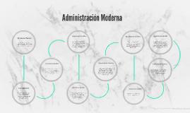 Administración Moderna