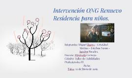 Intervención ONG Renuevo