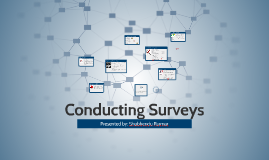 Copy of CDA 101: Conducting Surveys