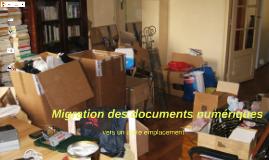 Migration des documents