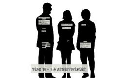 1.4 Assertive Skills Assessment