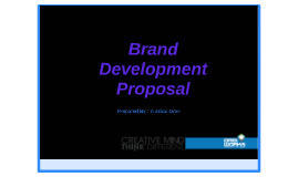 Brand Development Proposal