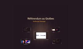 Référendum au Québec
