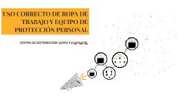 USO CORRECTO DE ROPA DE TRABAJO Y EQUIPO DE PROTECCION PERSO