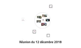 Réunion du 12 décembre 2018