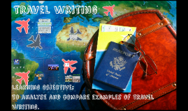 Travel Writing Year 10 2